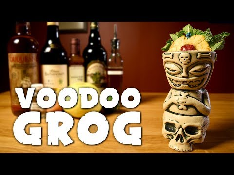 Voodoo Grog - How To Make Trader Vic's Tiki Drink & The History Of Pop Culture Voodoo