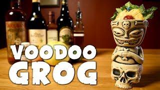 Voodoo Grog - How 2 Make Trader Vic&#39s Tiki Drink &amp the History of Pop Culture Voodoo
