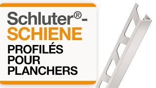 Comment installer le profilé pour plancher: Schluter®-SCHIENE