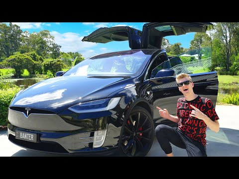 MY NEW CAR! (Tesla Model X P100D)