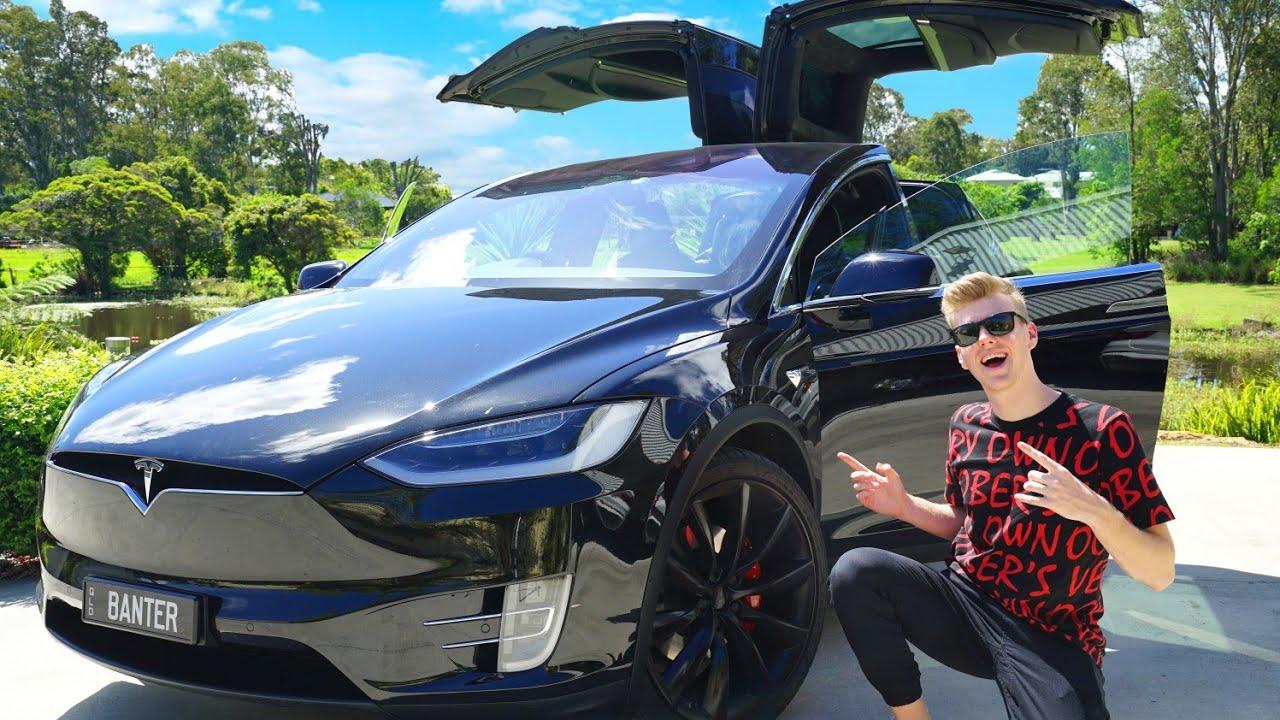 My New Car: MY NEW CAR! (Tesla Model X P100D)