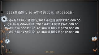 香港財經 R 20181206 適時檢視你的投資組合 採取適當的行動 爭取回報
