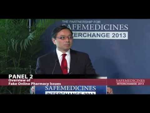 Interchange 2013 - Panel 2: Overview of Fake Online Pharmacy Issues