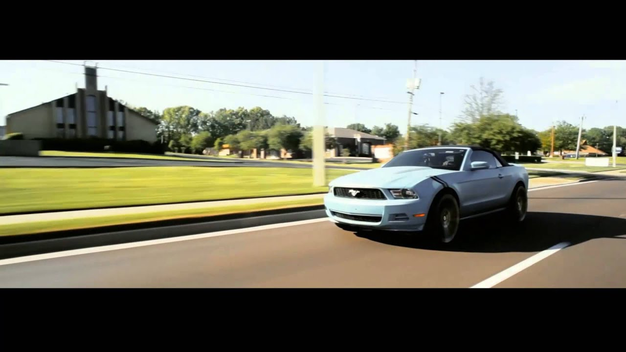 Mustang Convertible on 24inch Starr Wheels 469 SKS