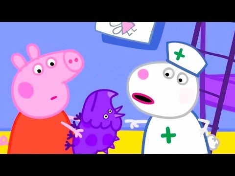 Свинка Пеппа на русском все серии подряд | Пеппа и Сьюзи играют в больницу | Мультики