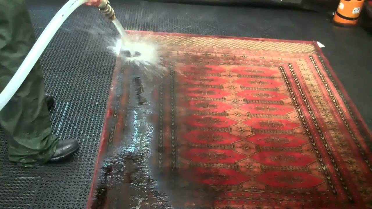 Rug Washing Procedure - YouTube