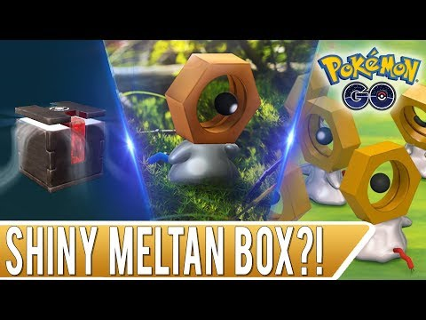 MYSTERY BOX OPENING! Can We Get a Shiny Meltan in Pokemon GO? thumbnail