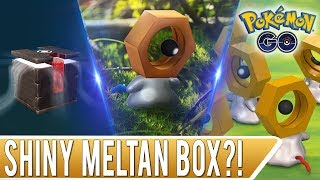 MYSTERY BOX OPENING! Can We Get a Shiny Meltan in Pokemon GO?