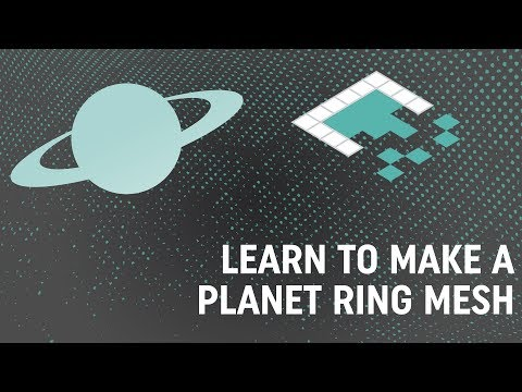 Making A Custom Planet Ring In Unity