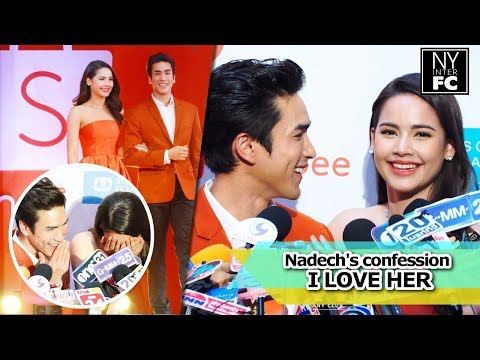 [ENG SUB] Nadech Yaya Sweet Confession 'I LOVE HER' | Shopee Event 28/03/18