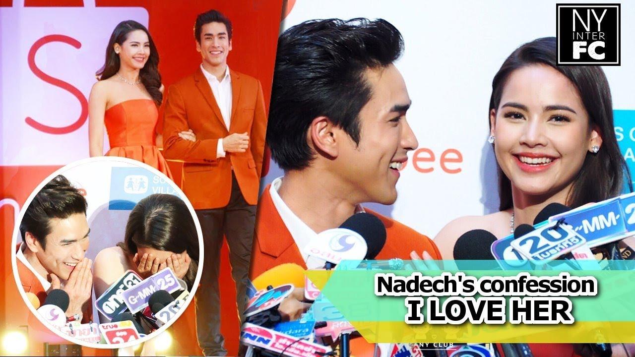 Relationship yaya nadech and Nadech &