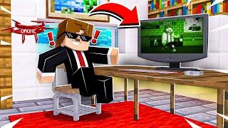 GÜVENLİK KAMERALARINI HACKLEDİK - DRONE İLE UÇUŞ #3 AJANCRAFT - Minecraft