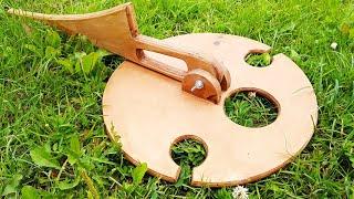 Cool idea! Do not throw away scraps of plywoods!