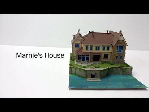 1/220 Scale When Marnie Was There Papercraft (Short Version)