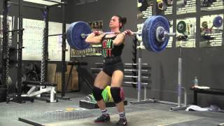 Catalyst Athletics Weightlifting Team Heavy Saturday Training 1-23-2016  (Part 2)