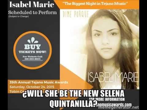 "Isabel Marie ""Dime Porque"" 12 años de San Antonio,Tx.  FB: Isabel Marie Sanchez TW: @StarringIsabel"
