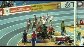 1500м Финал Женщины - Чемпионат Мира в помещении Стамбул