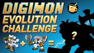Digimon Evolution Drawing Challenge