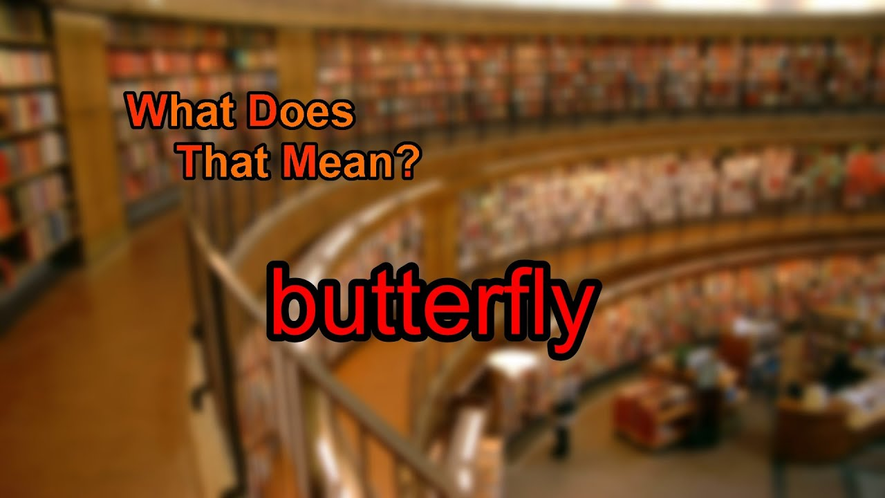 What does butterfly mean youtube what does butterfly mean buycottarizona