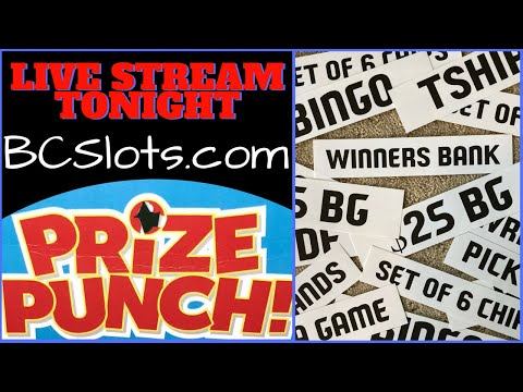 🔴LIVE ➡️ Prize Punch Game ✦ Casino N' Brian Christopher Slots Chat
