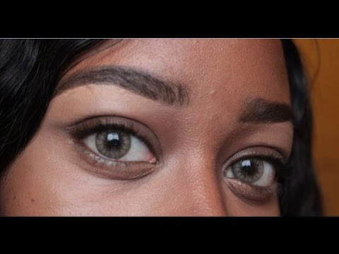 Desio Contact Lense Review Carmel Brown On Dark Eyes Youtube