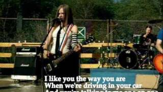 Avril Lavigne - Complicated (with lyrics)