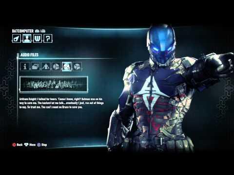 Batman Arkham Knight All Arkham Knight Audio Logs