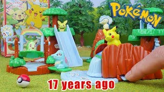 Pokemon Park - Candy Toys 5 Packs Unboxing Opening
