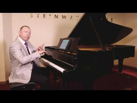 Piano lesson on how to avoid tension in your playing