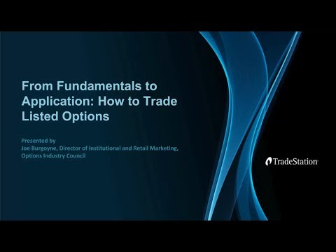From Fundamentals to Application: How to Trade Listed Options