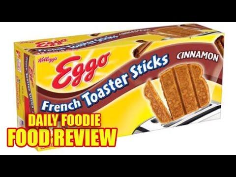 French Toaster Sticks Review Eggo Cinnamon Kellogg S