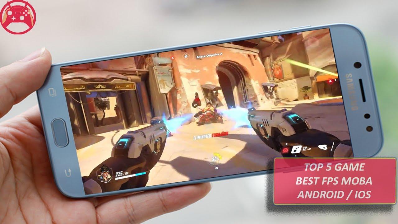 Top 5 Game Mobile Bắn Súng FPS + Moba Có Lối Chơi Giống Overwatch Trên Android/IOS