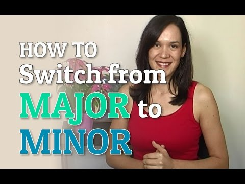 How To Switch From Major To Minor In The Same Song - Ear Training