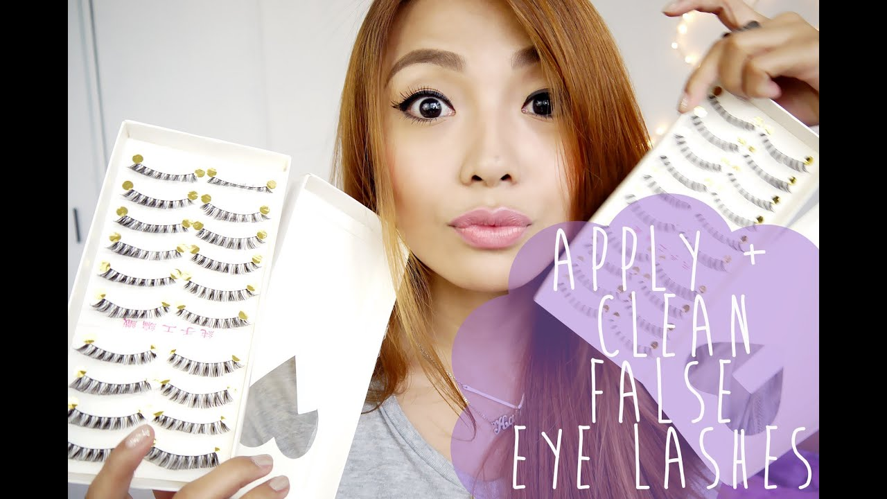 6d6e99190fa HOW TO: APPLY and CLEAN False Eyelashes. Michelle Dy