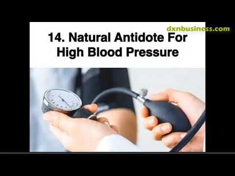 DXN NONIZHI A NATURAL ANTIDOTE FOR HIGH BLOOD PRESSURE (ENGLISH)