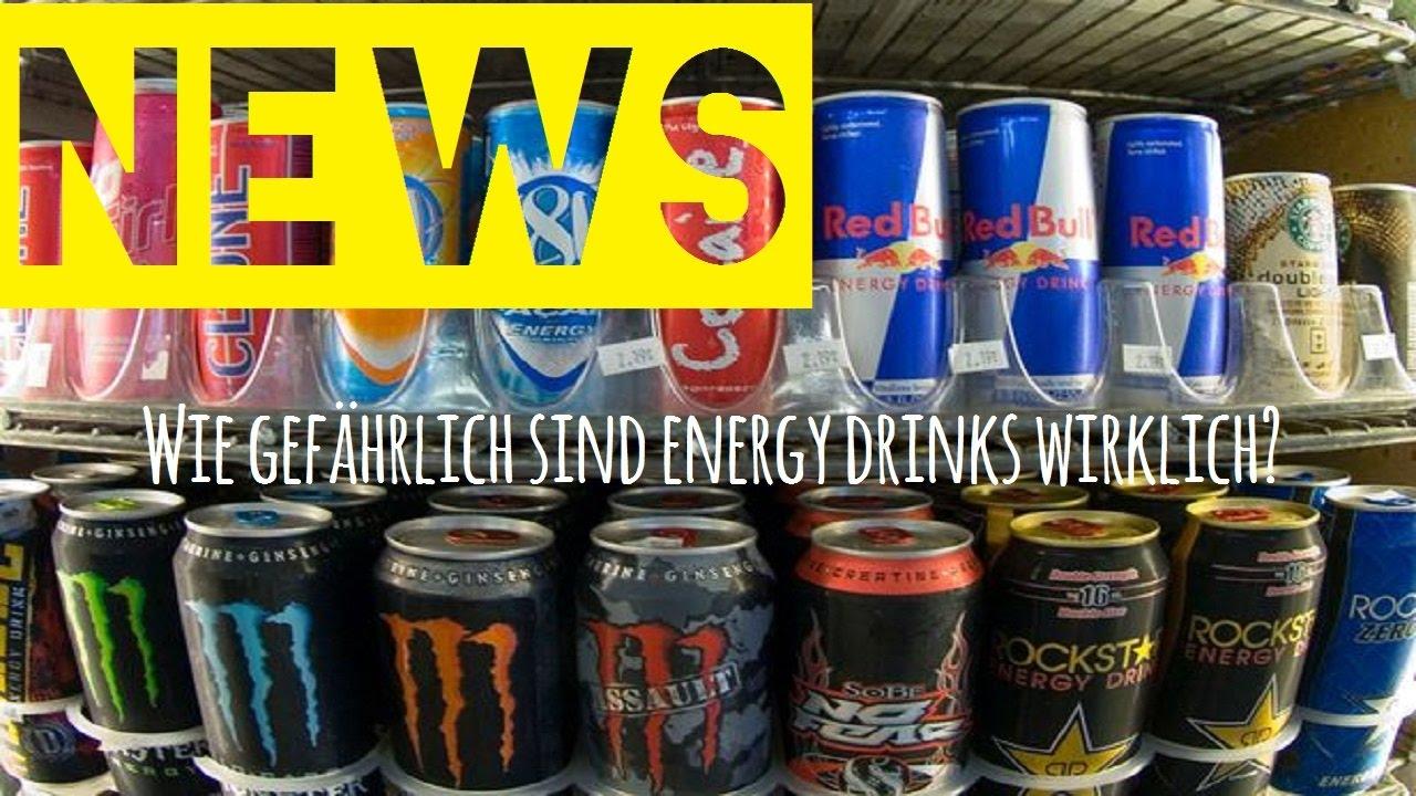 RED BULL - So gefährlich sind Energy Drinks wirklich 🌞 NEWS TIME ...