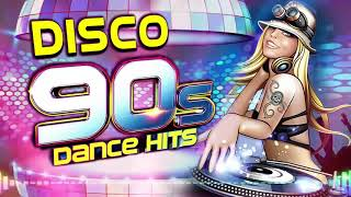 Lo Mejor de la Musica Disco 90s Exitos En Ingles - 80s & 90s DISCO DANCE PARTY MIX sin escalas