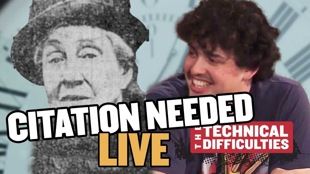 Youtube Thumbnail Image: Ruth Belville and Time Balls: Citation Needed LIVE, Part 1