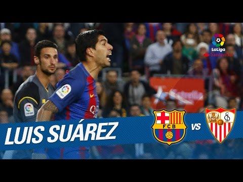 Golazo de Luis Suárez (1-0) FC Barcelona vs Sevilla FC