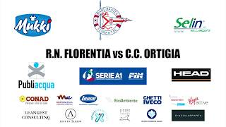 RARI NANTES FLORENTIA vs C.C. ORTIGIA - Serie A1 - 3' Giornata Ritorno 2018/2019