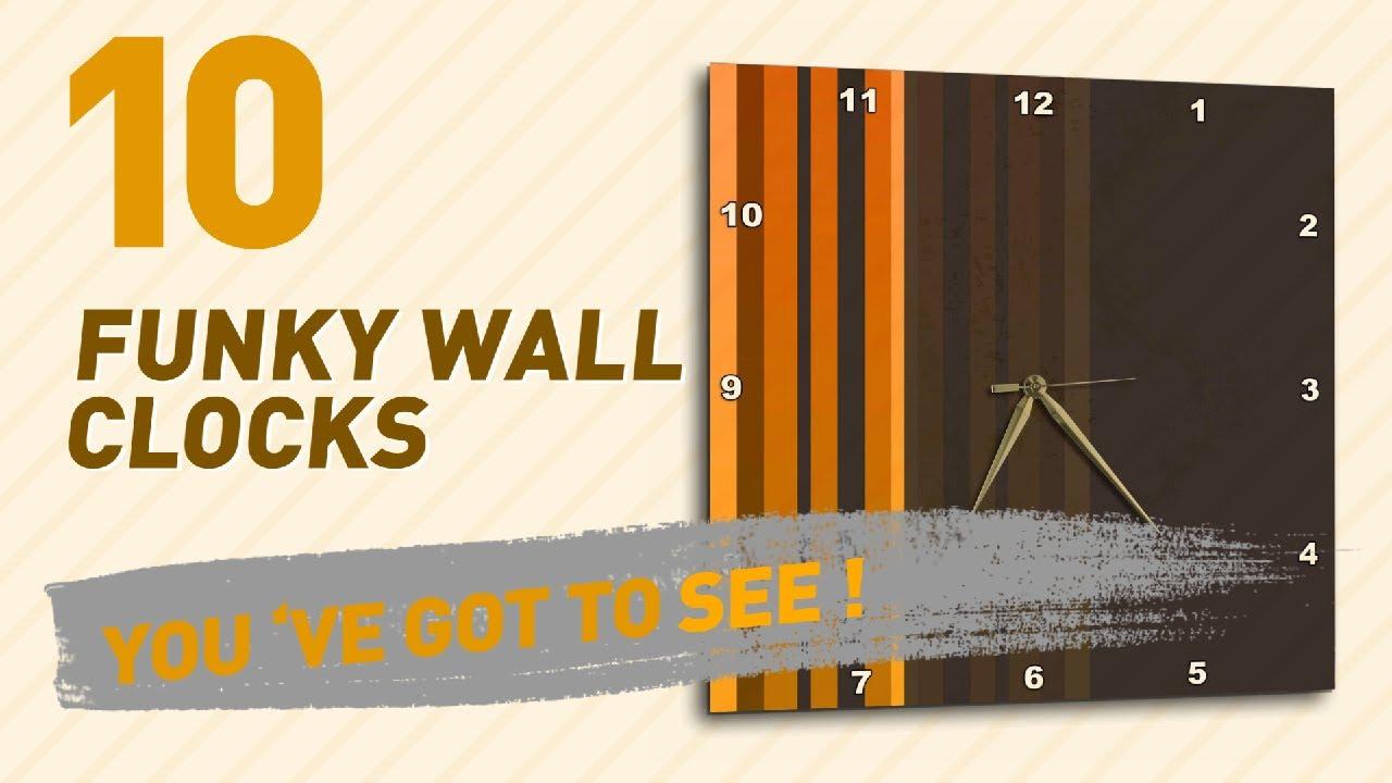funky wall clocks new u0026 popular