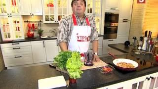 Азиатский салат с лапшой. Быстро и вкусно! Утро на 5