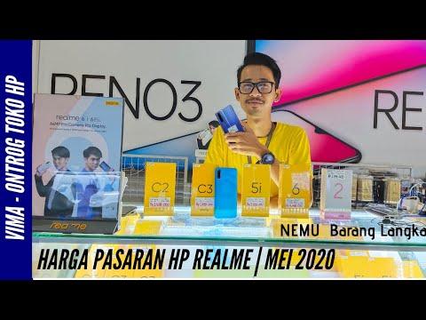 Daftar harga HP Realme terbaru november 2020.