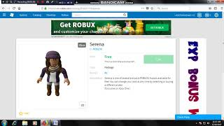 How to get Serena in PC/IO's 2017 in ROBLOX