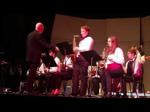 Curtis Junior High School Jazz Band Birdland with Aidan Cadle solo