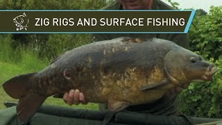 ZIG RIG and Surface Fishing with Kevin Nash and Alan Blair - Nash 2014 Carp Fishing DVD Movie