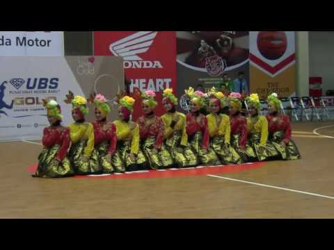 Ubs gold dbl dance competition man model banda aceh