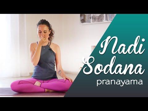 Nadi  Sodana Pranayama - Respirazione calmante