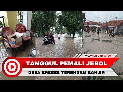 Tanggul Sungai Pemali di Brebes Jebol, 3 Desa Terendam Banjir