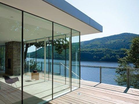 Lake House Above Rur Reservoir In Germany Is Minimalist Masterpiece